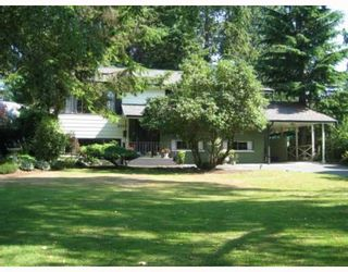 Photo 1: 2608 DERBYSHIRE Way in North_Vancouver: Blueridge NV House for sale (North Vancouver)  : MLS®# V779308