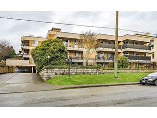 """Photo 1: 405 715 ROYAL Avenue in New Westminster: Uptown NW Condo for sale in """"Vista Royale"""" : MLS®# R2328335"""