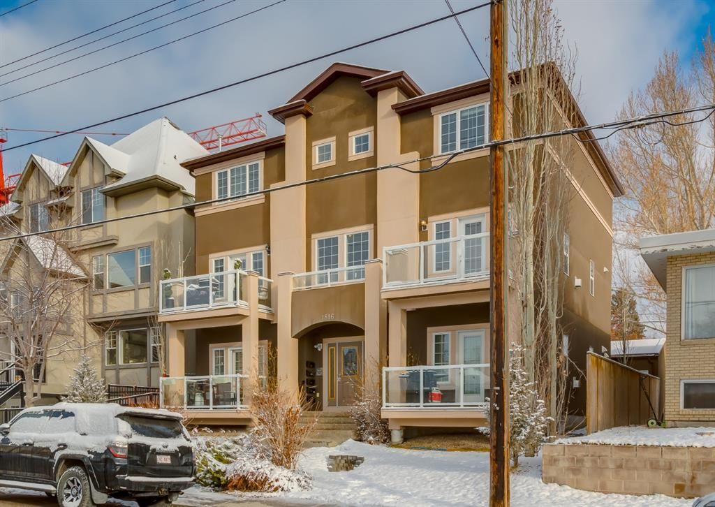Main Photo: 201 1816 34 Avenue SW in Calgary: South Calgary Apartment for sale : MLS®# A1109875