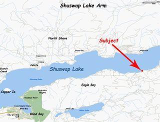 Photo 2: Lot #2 Eagle Bay Road: Eagle Bay Vacant Land for sale (Shuswap Lake)  : MLS®# 10187525