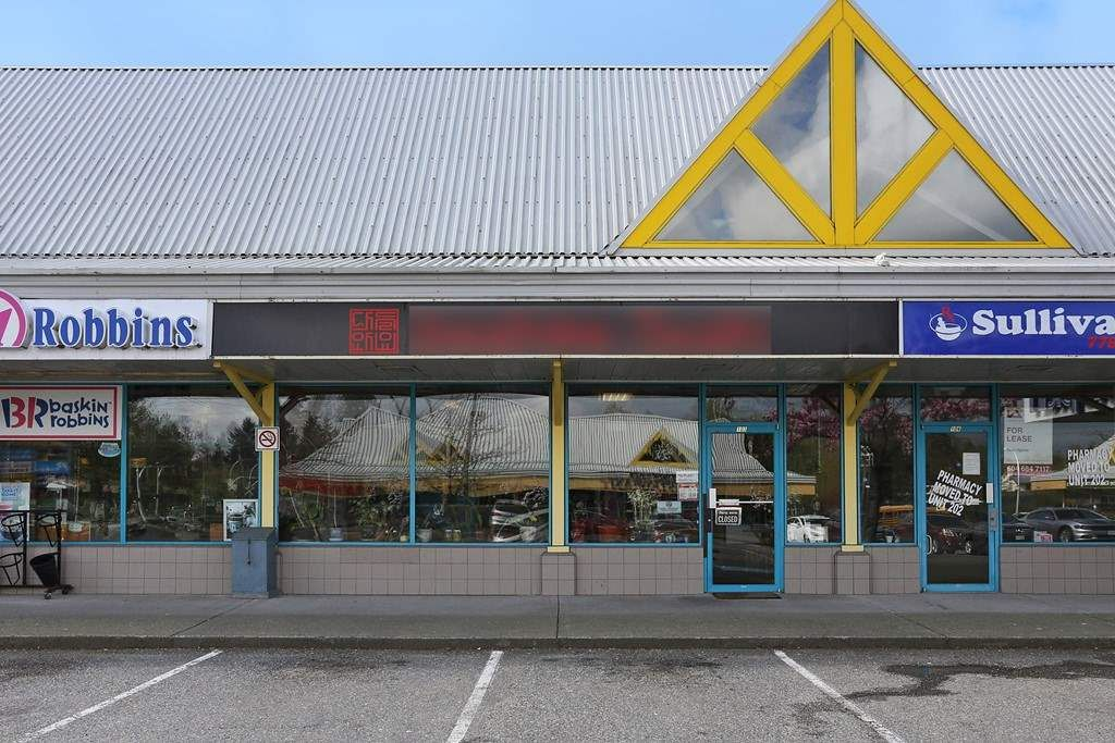 Main Photo: 103 6351 152 STREET in Surrey: Business for sale : MLS®# C8012041