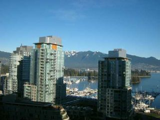 """Photo 2: 1333 W GEORGIA Street in Vancouver: Coal Harbour Condo for sale in """"THE QUBE"""" (Vancouver West)  : MLS®# V626760"""