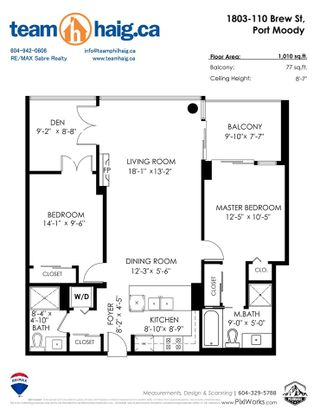 "Photo 36: 1803 110 BREW Street in Port Moody: Port Moody Centre Condo for sale in ""ARIA 1"" : MLS®# R2492572"