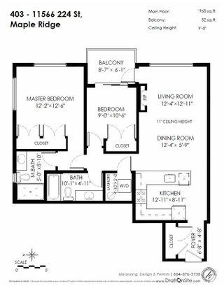 "Photo 20: 403 11566 224 Street in Maple Ridge: East Central Condo for sale in ""CASCADA"" : MLS®# R2239871"