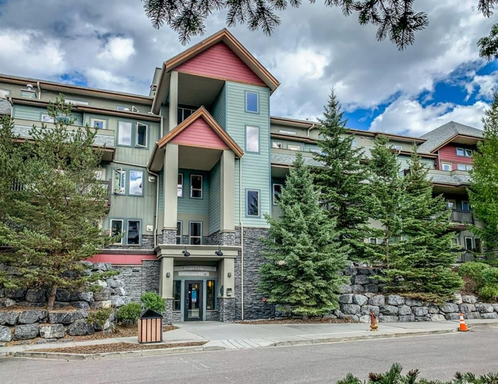 Main Photo: 108 109 Montane Road: Canmore Apartment for sale : MLS®# A1058911