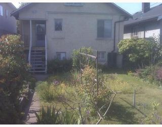 Photo 2: 2581 MCGILL Street in Vancouver East: Home for sale : MLS®# V777486