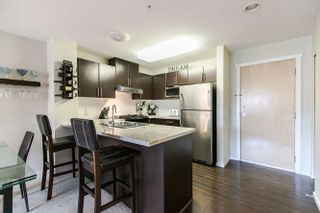 "Photo 3: 322 700 KLAHANIE Drive in Port Moody: Port Moody Centre Condo for sale in ""BOARDWALK"" : MLS®# R2039030"