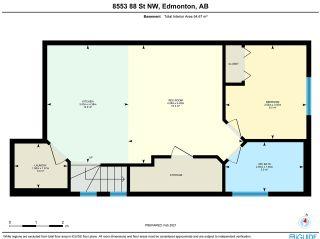Photo 50: 8553 88 Street in Edmonton: Zone 18 House Half Duplex for sale : MLS®# E4229581