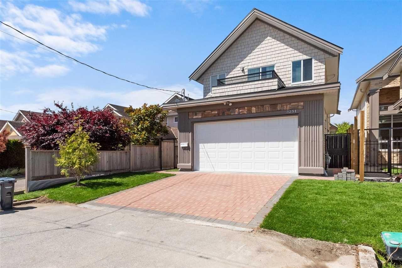 "Main Photo: 3251 GARRY Street in Richmond: Steveston Village House for sale in ""Steveston"" : MLS®# R2593165"