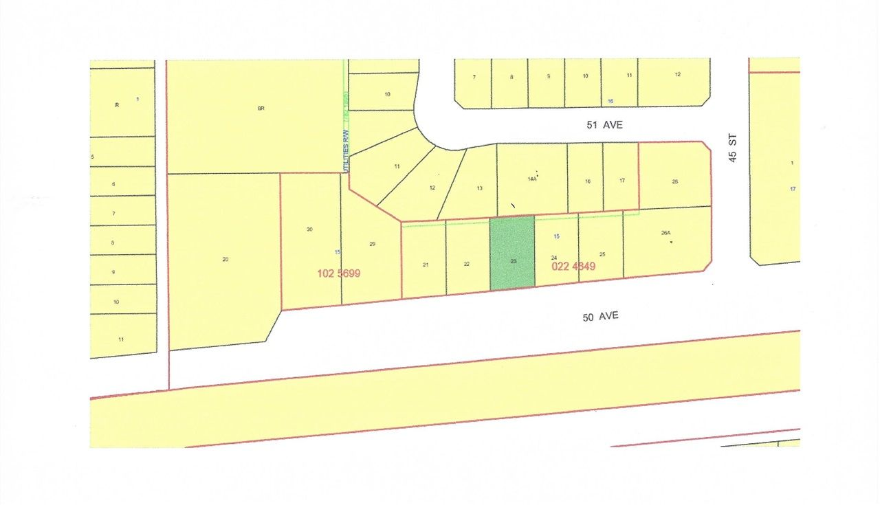 Main Photo: 4524 50 Avenue: Warburg Vacant Lot for sale : MLS®# E4196794