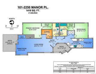 Photo 29: 101 2250 Manor Pl in : CV Comox (Town of) Condo for sale (Comox Valley)  : MLS®# 866765