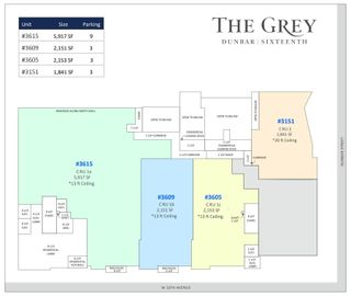 """Photo 7: 3615 W 16TH Avenue in Vancouver: Point Grey Office for lease in """"The Grey"""" (Vancouver West)  : MLS®# C8040691"""
