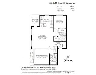 """Photo 20: 305 5689 KINGS Road in Vancouver: University VW Condo for sale in """"GALLERIA"""" (Vancouver West)  : MLS®# R2285641"""
