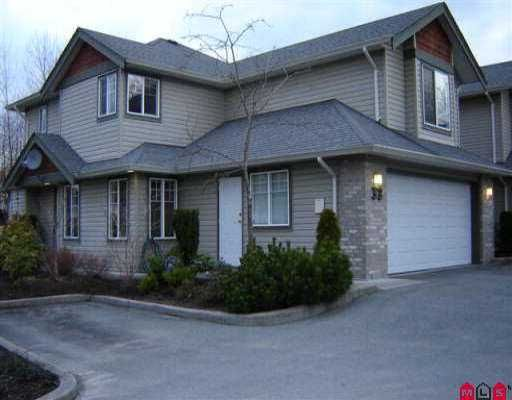 Main Photo: 33 3270 BLUE JAY ST in Abbotsford: Abbotsford West Townhouse for sale : MLS®# F2605900