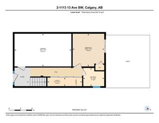 Photo 34: 2 1113 13 Avenue SW in Calgary: Beltline Row/Townhouse for sale : MLS®# A1070935