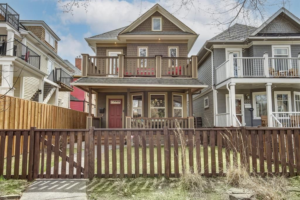 Main Photo: 605 22 Avenue SW in Calgary: Cliff Bungalow Detached for sale : MLS®# A1102161