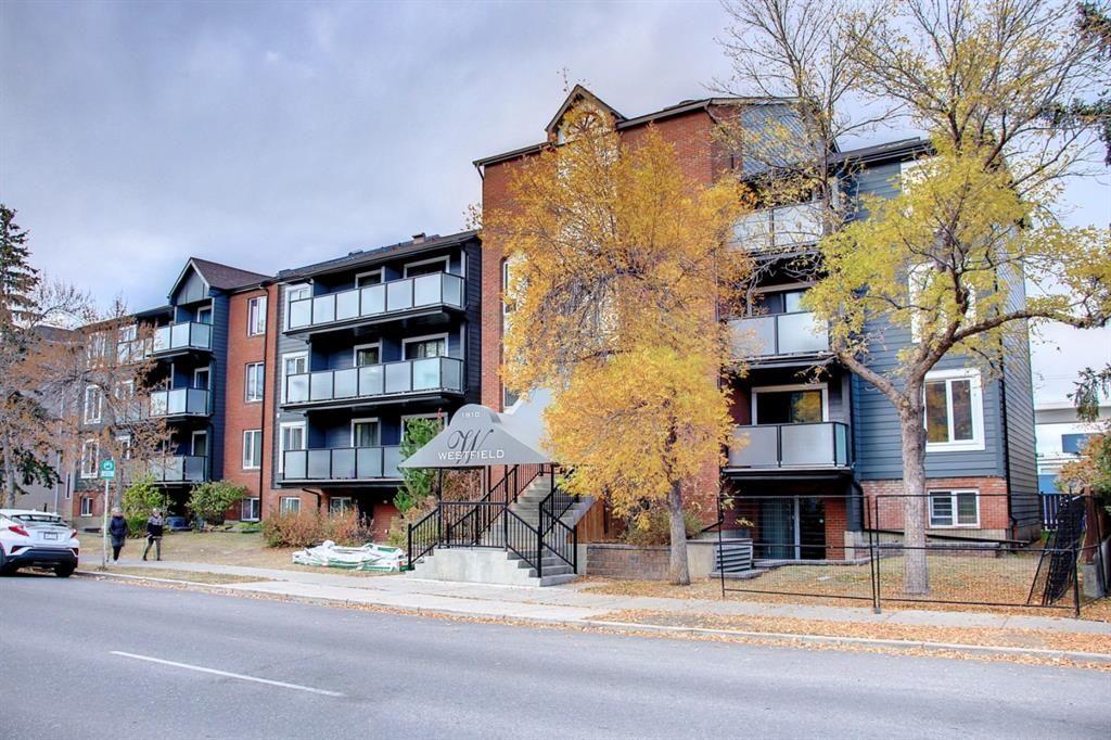 Main Photo: 401 1810 11 Avenue SW in Calgary: Sunalta Apartment for sale : MLS®# A1154103