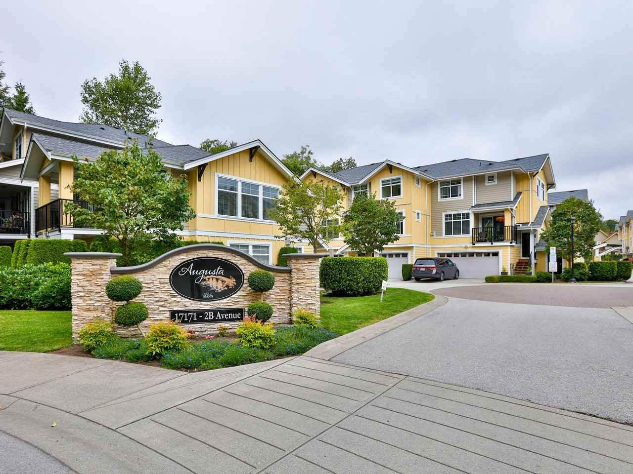 """Main Photo: 14 17171 2B Avenue in Surrey: Pacific Douglas Townhouse for sale in """"AUGUSTA TOWNHOUSES"""" (South Surrey White Rock)  : MLS®# R2478640"""