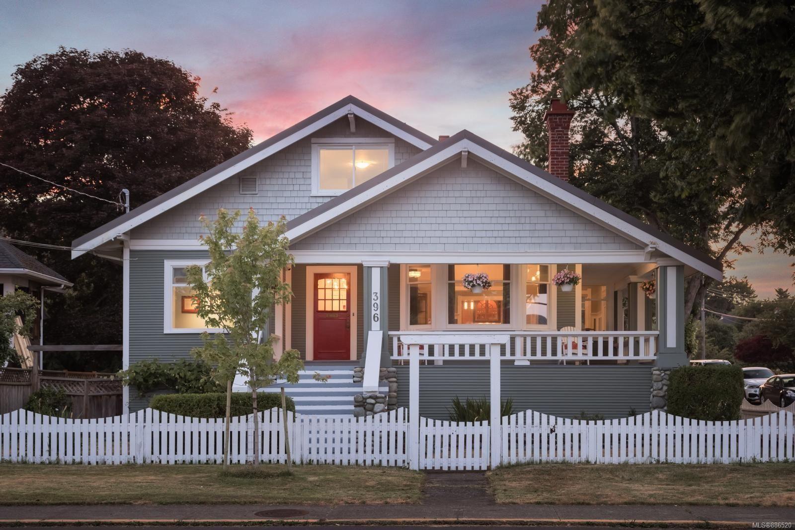 Main Photo: 396 King George Terr in Oak Bay: OB Gonzales House for sale : MLS®# 886520