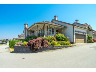 """Photo 1: 41 20222 96 Avenue in Langley: Walnut Grove Townhouse for sale in """"Windsor Gardens"""" : MLS®# R2597254"""