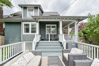 "Photo 1: 202 SEVENTH Street in New Westminster: Uptown NW House for sale in ""BROW OF THE HILL"" : MLS®# R2177046"