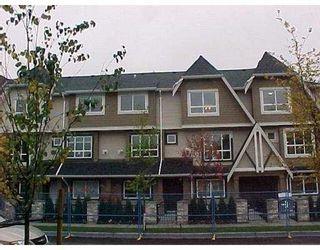 """Photo 1: 13 7333 TURNILL Street in Richmond: McLennan North Townhouse for sale in """"PALATINO"""" : MLS®# V763326"""