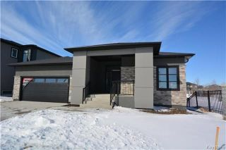 Photo 1: 145 Highland Creek Road in Winnipeg: Bridgwater Forest Residential for sale (1R)  : MLS®# 1800130