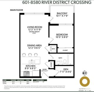 """Photo 25: 601 8580 RIVER DISTRICT Crossing in Vancouver: South Marine Condo for sale in """"Two Town Centre"""" (Vancouver East)  : MLS®# R2580251"""