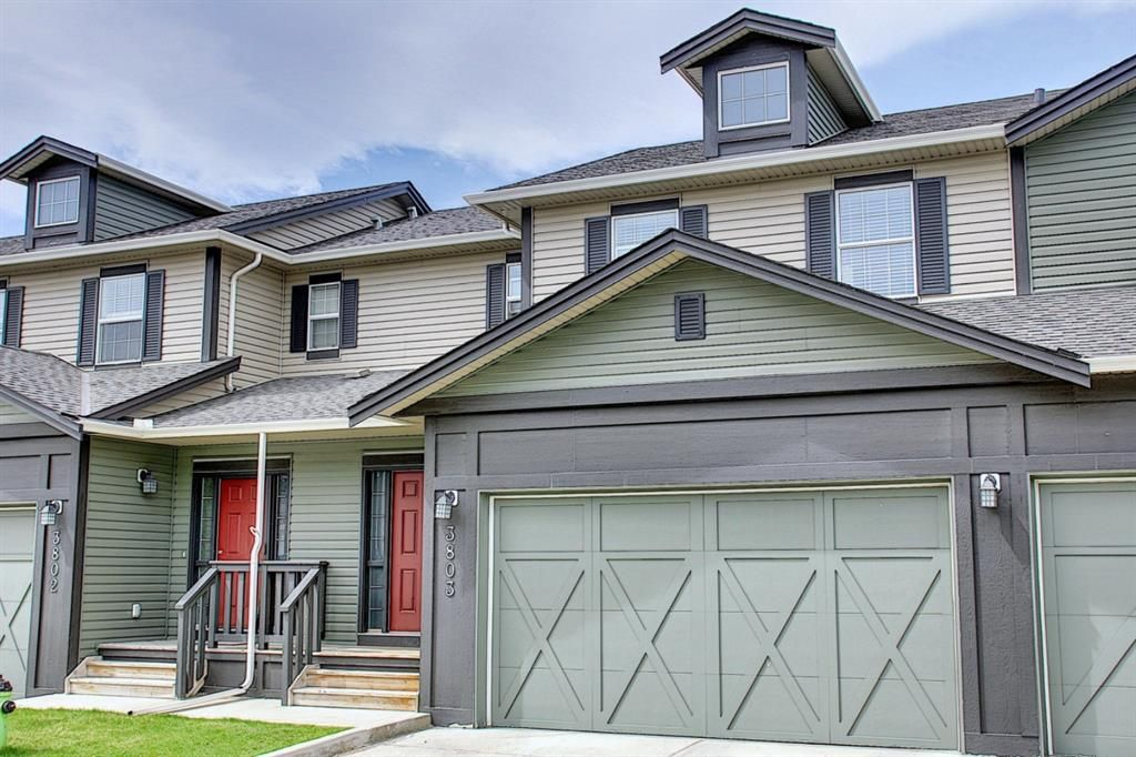 Main Photo: 3803 1001 8 Street: Airdrie Row/Townhouse for sale : MLS®# A1105310