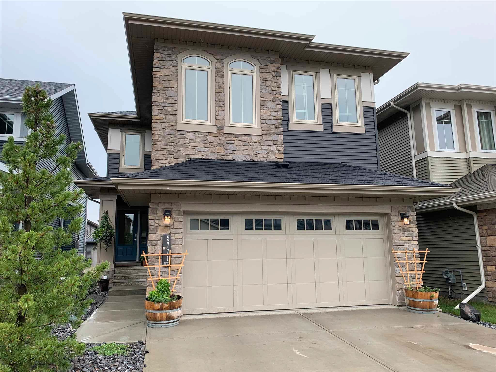 Main Photo: 5771 KEEPING Crescent in Edmonton: Zone 56 House for sale : MLS®# E4255642