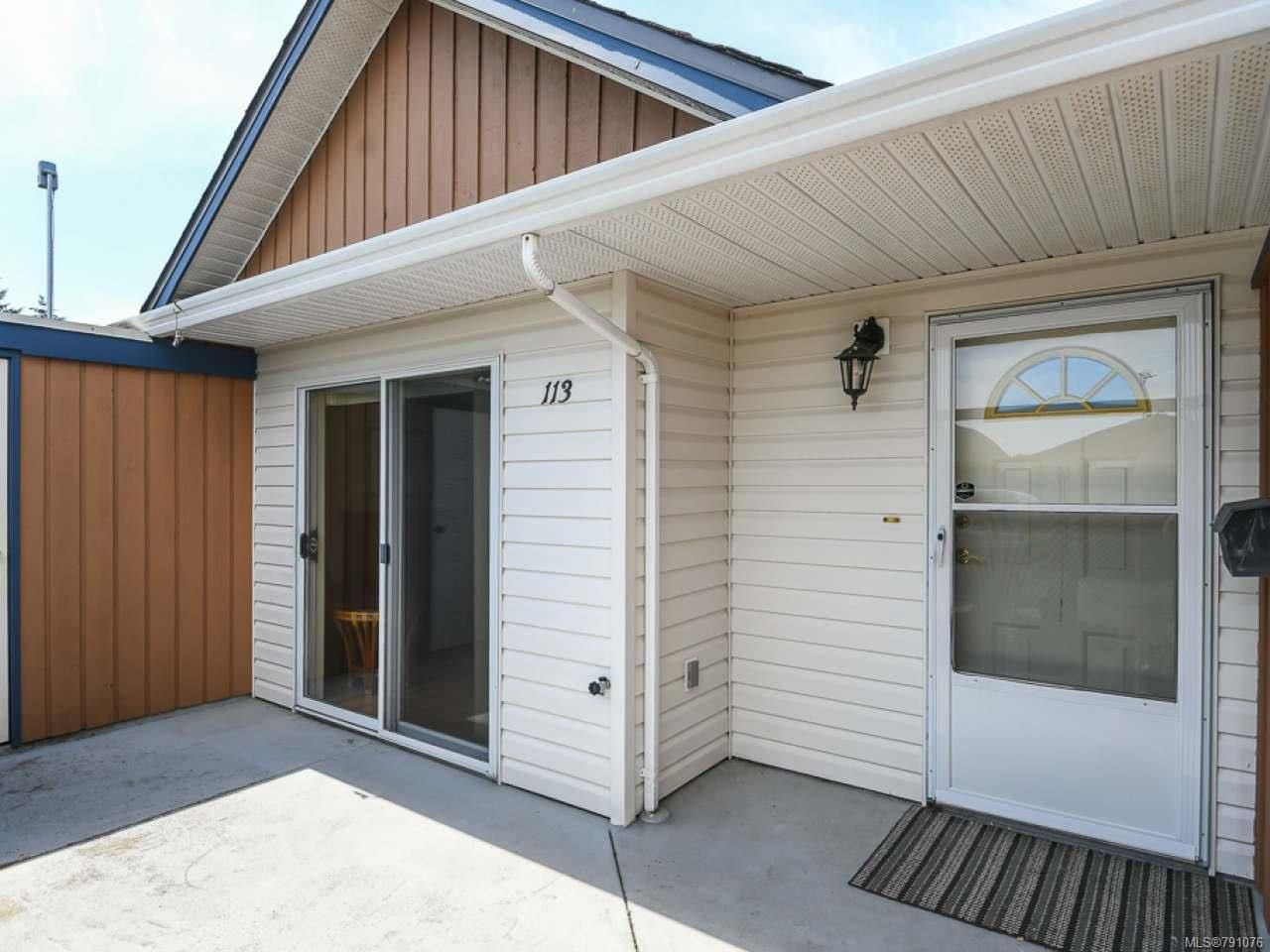 Main Photo: 113 675 Aspen Rd in COMOX: CV Comox (Town of) Row/Townhouse for sale (Comox Valley)  : MLS®# 791076