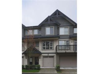 """Photo 1: 184 3105 DAYANEE SPRINGS Boulevard in Coquitlam: Westwood Plateau Townhouse for sale in """"DAYANEE SPRIGS"""" : MLS®# V1057307"""