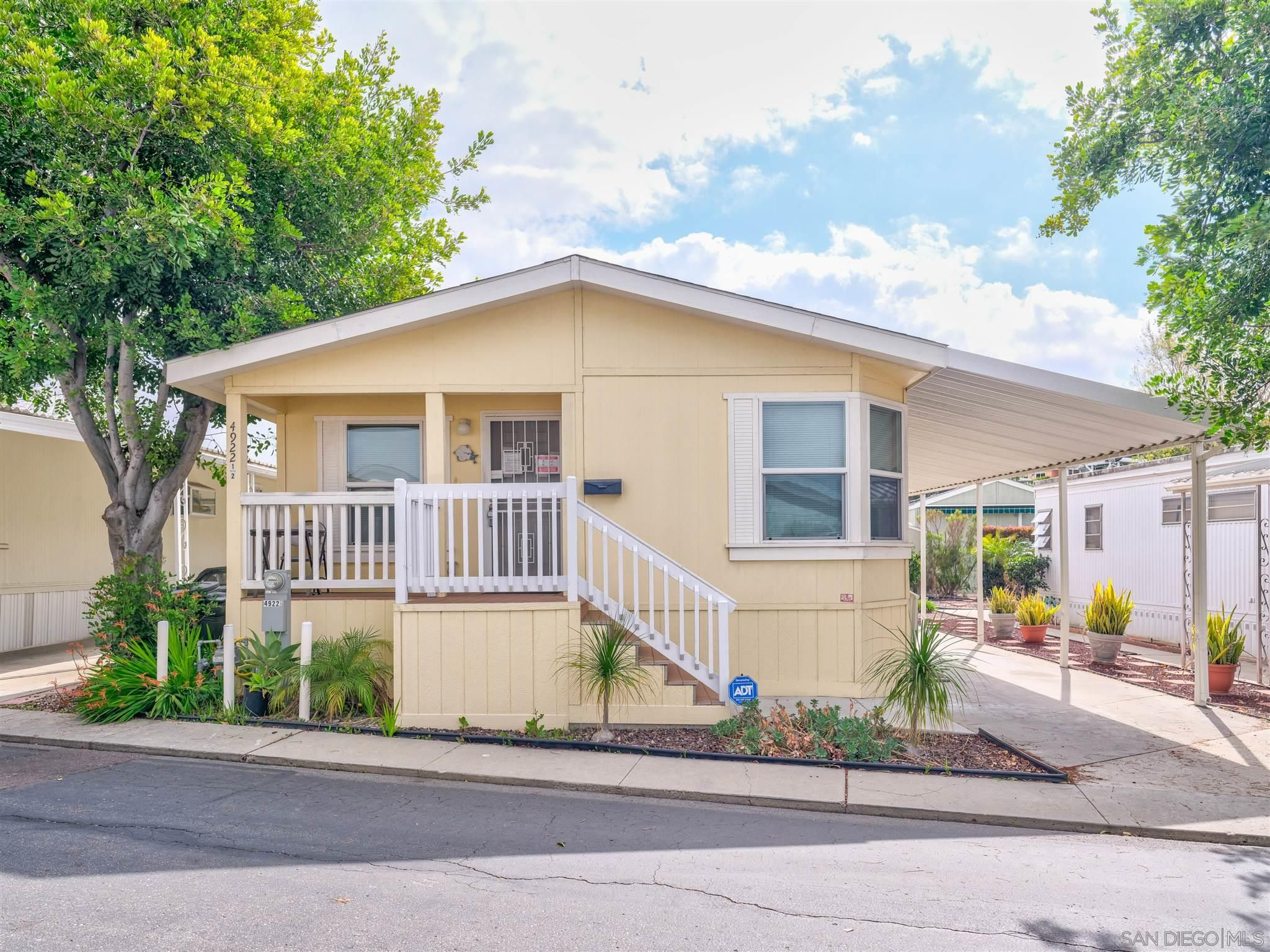 Main Photo: SAN DIEGO Manufactured Home for sale : 2 bedrooms : 4922 1/2 OLD CLIFFS RD