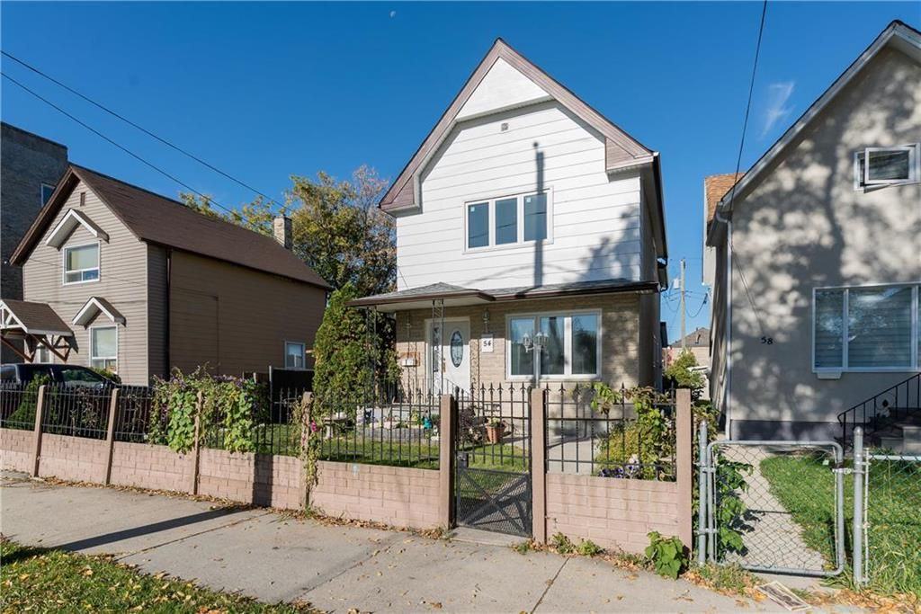 Main Photo: 54 Lydia Street in Winnipeg: West End Residential for sale (5A)  : MLS®# 202123758