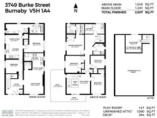 Photo 1: 3749 BURKE Street in Burnaby: Central Park BS House for sale (Burnaby South)  : MLS®# R2405401