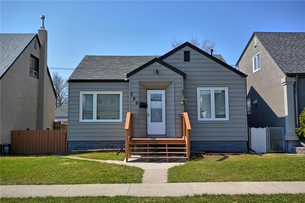 Main Photo: 580 Polson Avenue in Winnipeg: Residential for sale (4C)  : MLS®# 202010745