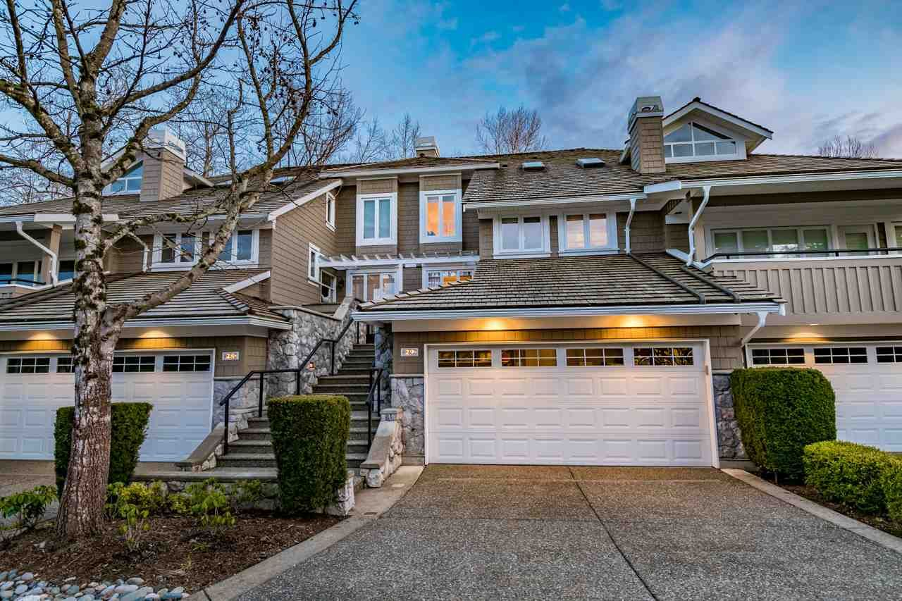 "Main Photo: 29 3355 MORGAN CREEK Way in Surrey: Morgan Creek Townhouse for sale in ""Deer Run"" (South Surrey White Rock)  : MLS®# R2249501"