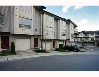 """Photo 1: 10 9229 UNIVERSITY Crescent in Burnaby: Simon Fraser Univer. Townhouse for sale in """"SERENITY"""" (Burnaby North)  : MLS®# V810035"""