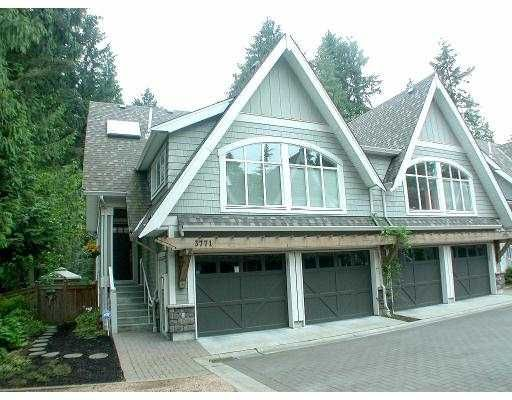"Main Photo: 3771 EDGEMONT BV in North Vancouver: Capilano Highlands Townhouse for sale in ""THE CRESCENT"" : MLS®# V563840"