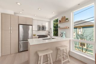 """Photo 1: 4 1411 E 1ST Avenue in Vancouver: Grandview Woodland Townhouse for sale in """"Grandview Cascades"""" (Vancouver East)  : MLS®# R2614894"""