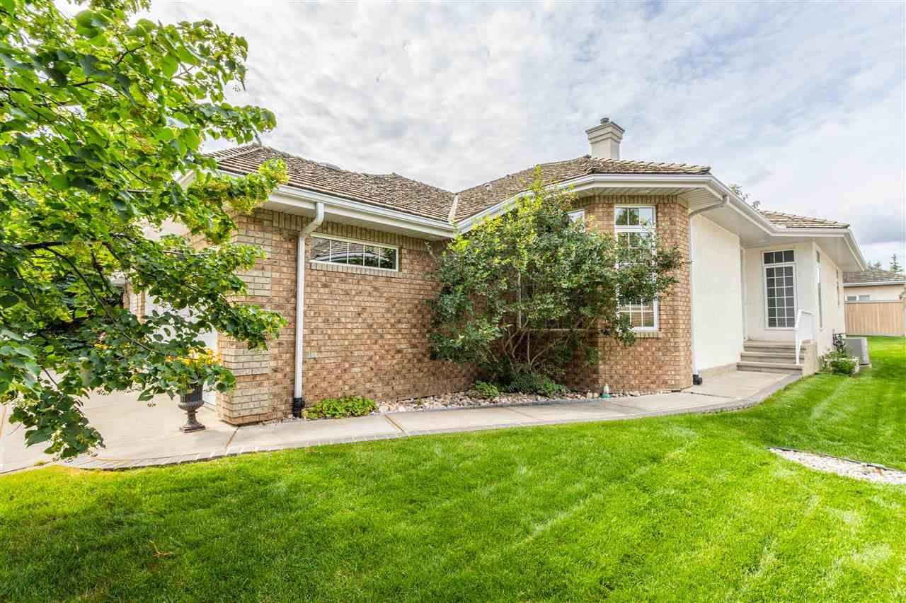 Main Photo: 6 1008 BUTTERWORTH Point in Edmonton: Zone 14 House Half Duplex for sale : MLS®# E4225896