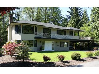 Photo 1: 890 WILDWOOD Lane in West Vancouver: British Properties House for sale : MLS®# V980661