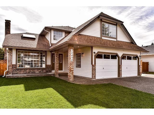 """Main Photo: 15498 91A Street in Surrey: Fleetwood Tynehead House for sale in """"BERKSHIRE PARK area"""" : MLS®# F1435240"""