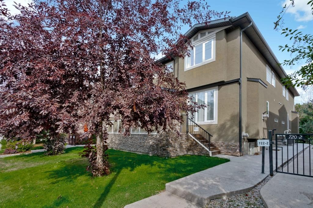 Main Photo: 722 56 Avenue SW in Calgary: Windsor Park Row/Townhouse for sale : MLS®# A1020099