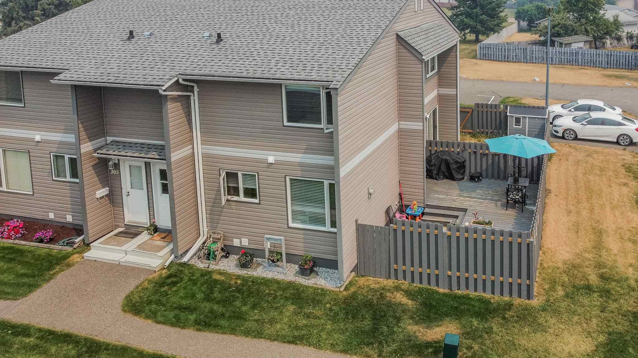 Main Photo: 306 2550 S OSPIKA Boulevard in Prince George: Carter Light Townhouse for sale (PG City West (Zone 71))  : MLS®# R2602308