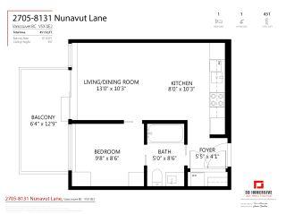 "Photo 24: 2705 8131 NUNAVUT Lane in Vancouver: Marpole Condo for sale in ""MC2"" (Vancouver West)  : MLS®# R2564673"