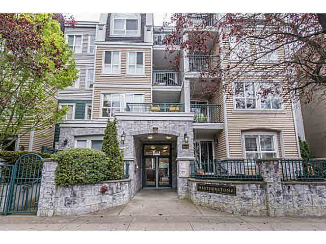 """Main Photo: 206 3278 HEATHER Street in Vancouver: Cambie Condo for sale in """"The Heatherstone"""" (Vancouver West)  : MLS®# V1121190"""