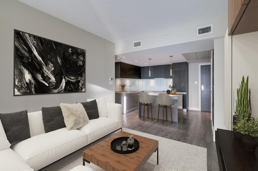 Main Photo: 905 1122 3 Street SE in Calgary: Beltline Apartment for sale : MLS®# A1087360