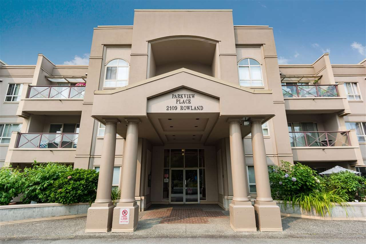 """Main Photo: 307 2109 ROWLAND Street in Port Coquitlam: Central Pt Coquitlam Condo for sale in """"PARKVIEW PLACE"""" : MLS®# R2300379"""