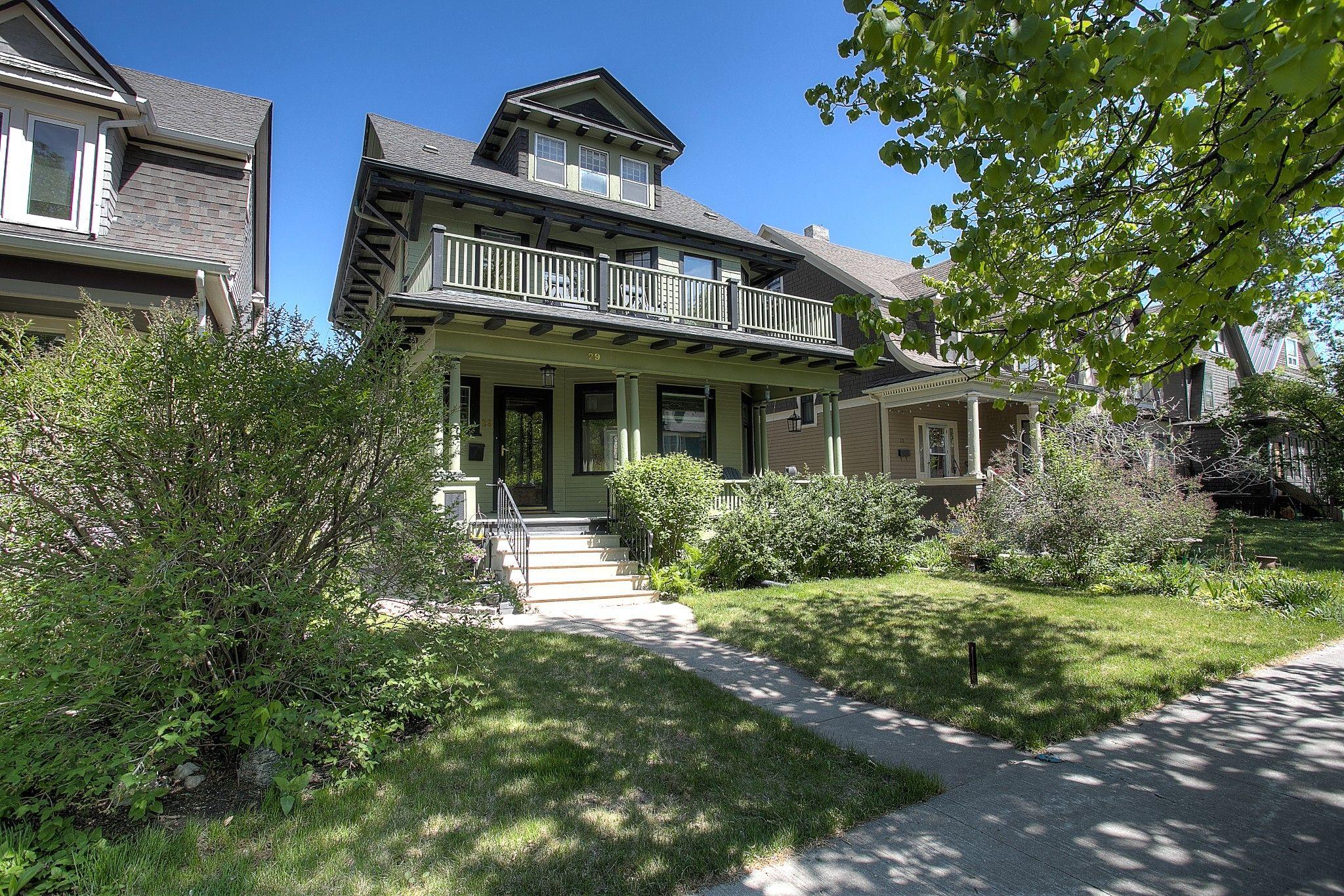 Main Photo: 29 Purcell Avenue in Winnipeg: Wolseley Single Family Detached for sale (5B)  : MLS®# 202113467